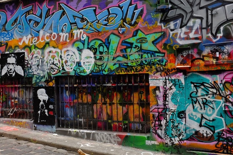 Australië bezienswaardigheden street art