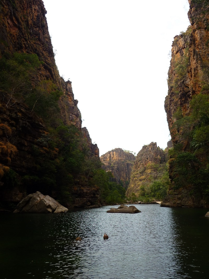 Twin Falls Gorge Kakadu National Park, Australië