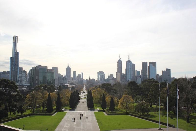 Australië skyline