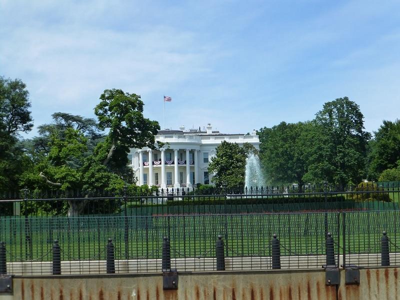 Witte Huis president Washington DC