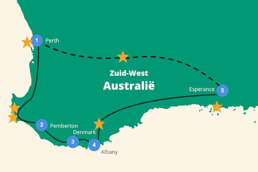 Zuid West Australië rondreis