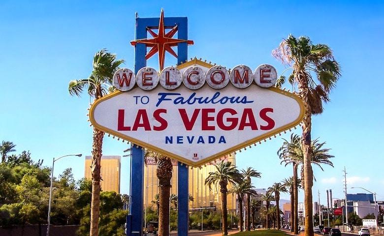reisroute Las Vegas