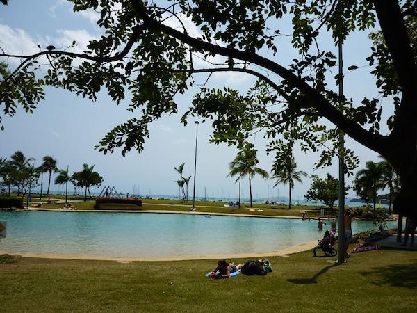 Airlie Beach Lagoon australie