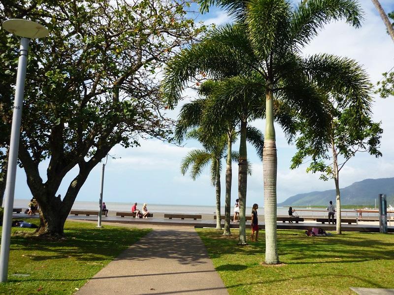 Cairns Esplanade australie