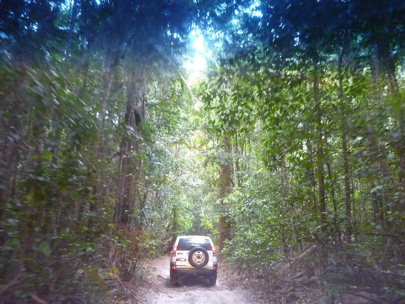 Fraser Island 4x4 jeep
