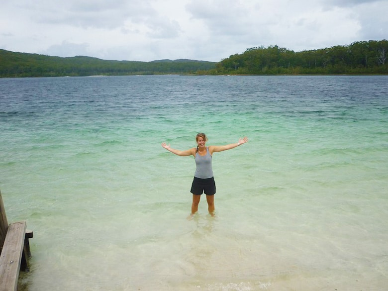 Fraser Island- Lake McKenzy