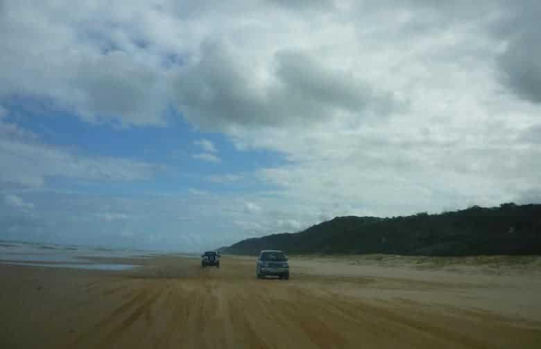 Fraser sland stranden