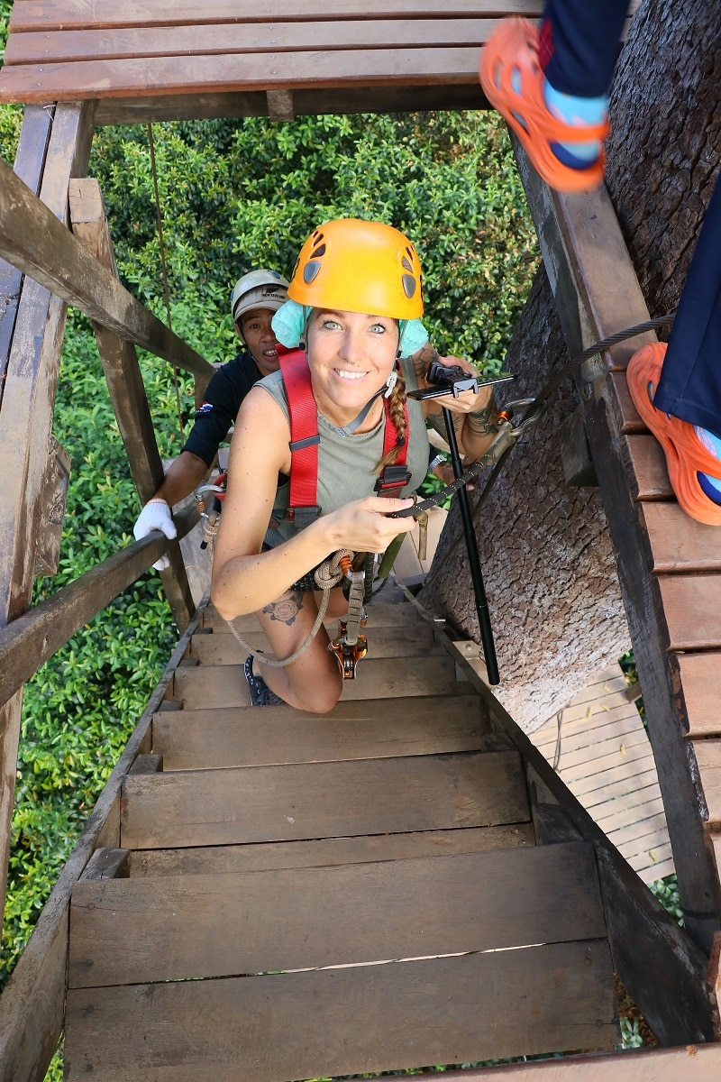 Jungle Flight zipline chiang mai