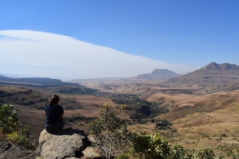 Natal zuid afrika uitzichtpunt