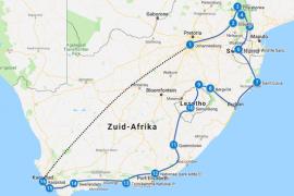 ondreis Zuid Afrika zelf regelen