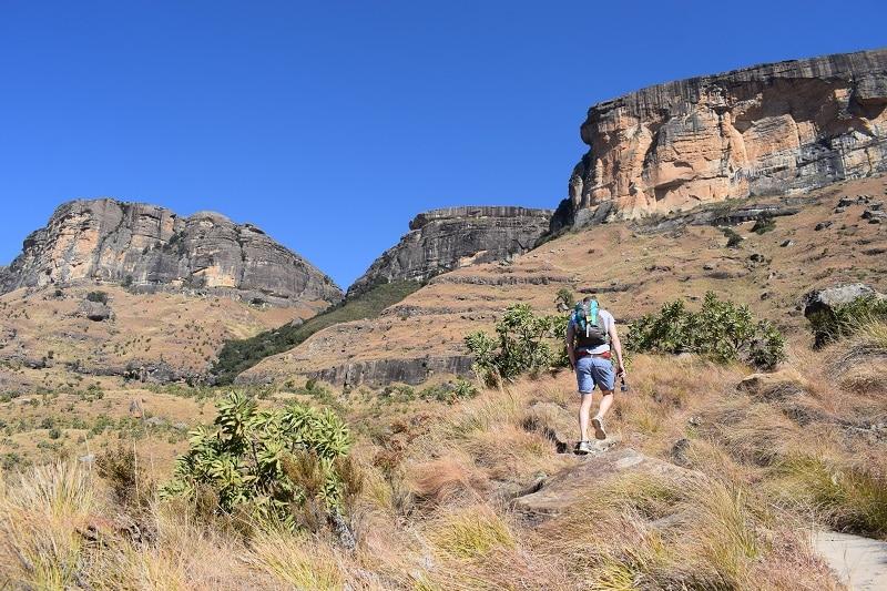 Zuid afrika Amphi theater drakensberg