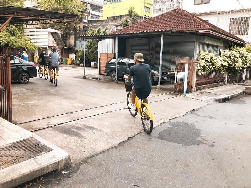 Bangkok fietsen tours ervaringen
