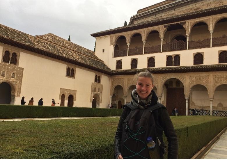 Granada Alhambra paleis karel v