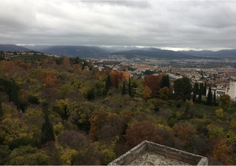 Granada uitzicht vanaf Alhambra