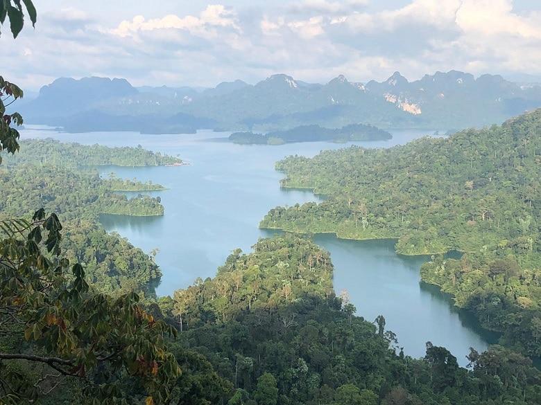 Viewpoint Khao Sok Thailand Hike