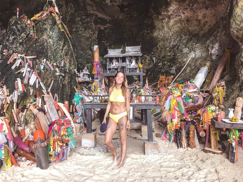 Princess cave phra nang beach krabi
