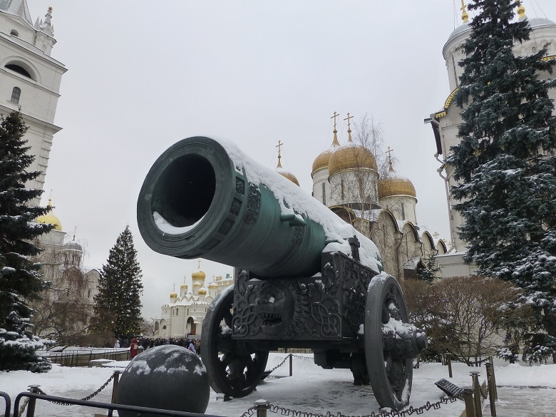 Kremlin Moskou rode plein