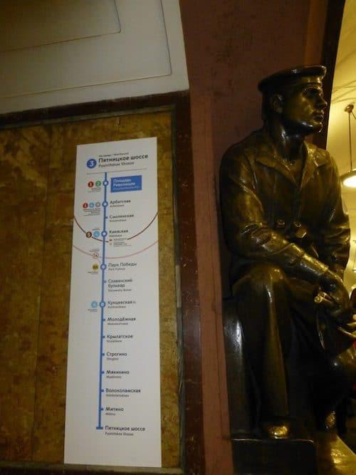 Moskou metro tips