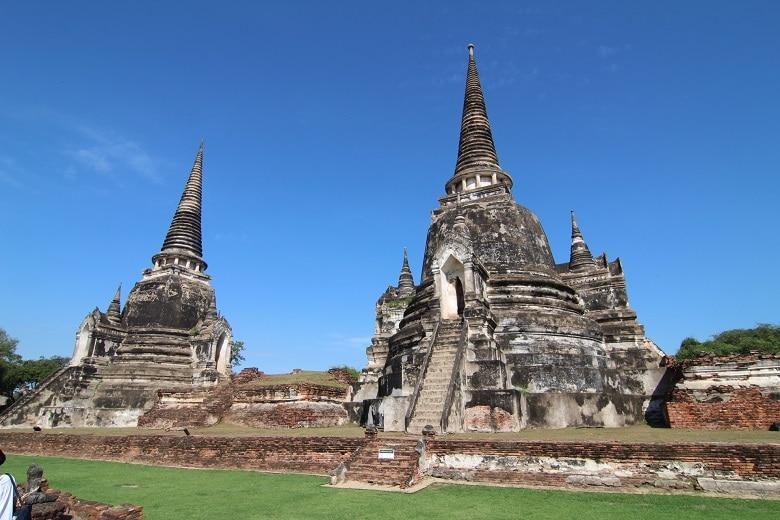 Route Thailand Ayutthaya