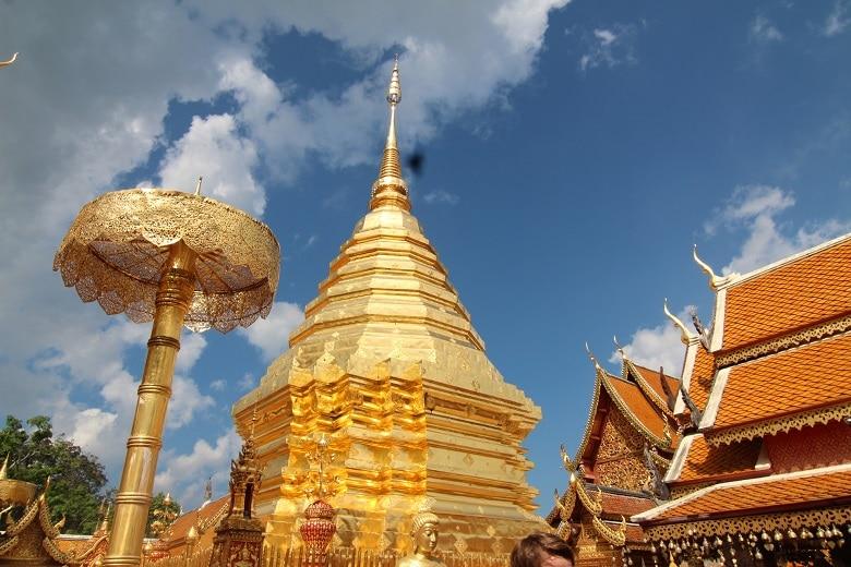 Route drie vier weken Thailand