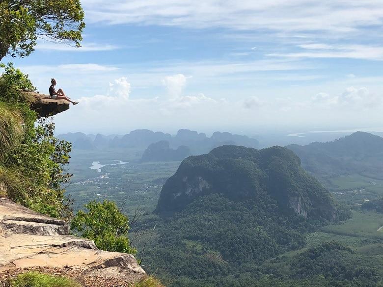 Khao Ngon Nak viewpoint Route Thailand