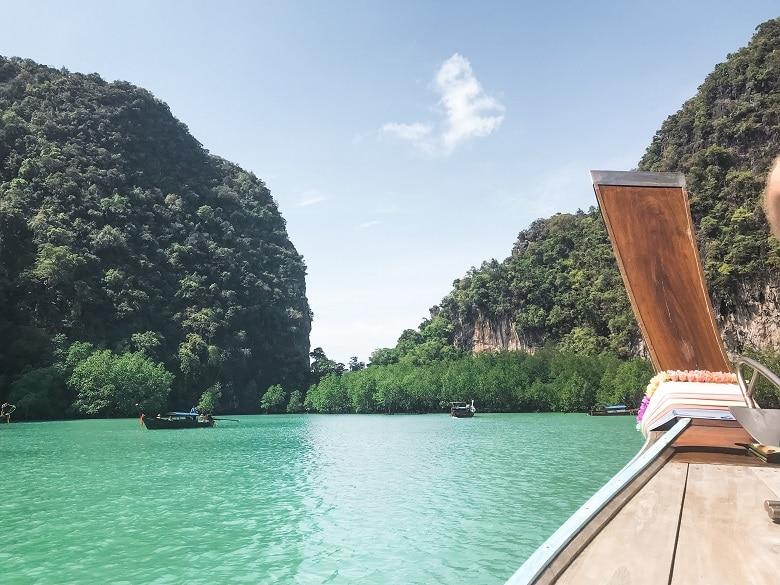 Route Thailand Hong Island