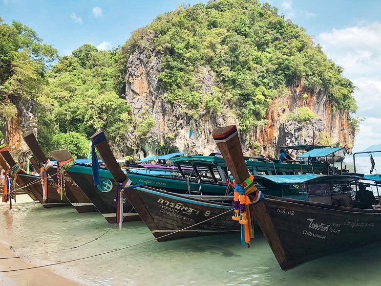 Route Thailand Noord naar Zuid