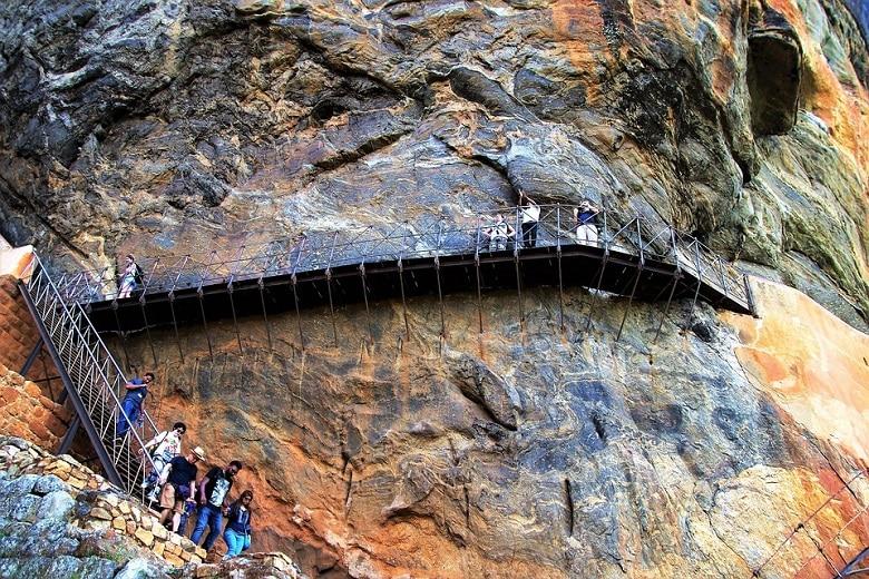 Lion Rock beklimmen Sigiriya