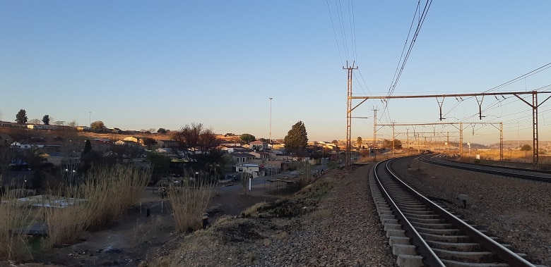Fietstocht Soweto township