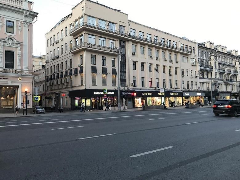 Winkelen moskou tverskaya centrum