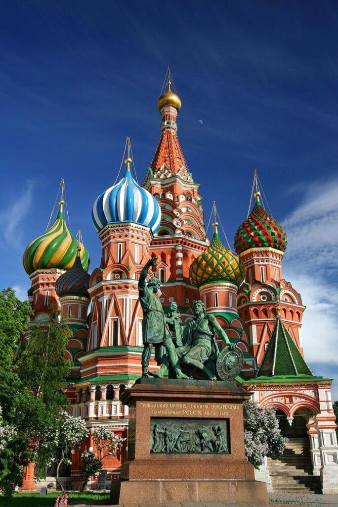 vakantie rusland moskou