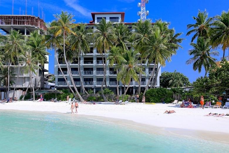 Accommodatie tip beste locatie Maafushi