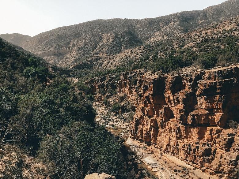 Uitzicht Paradise Valley Agadir
