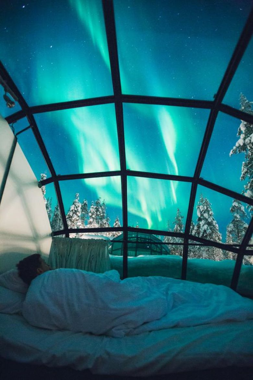 finland lapland iglo tips overnachten