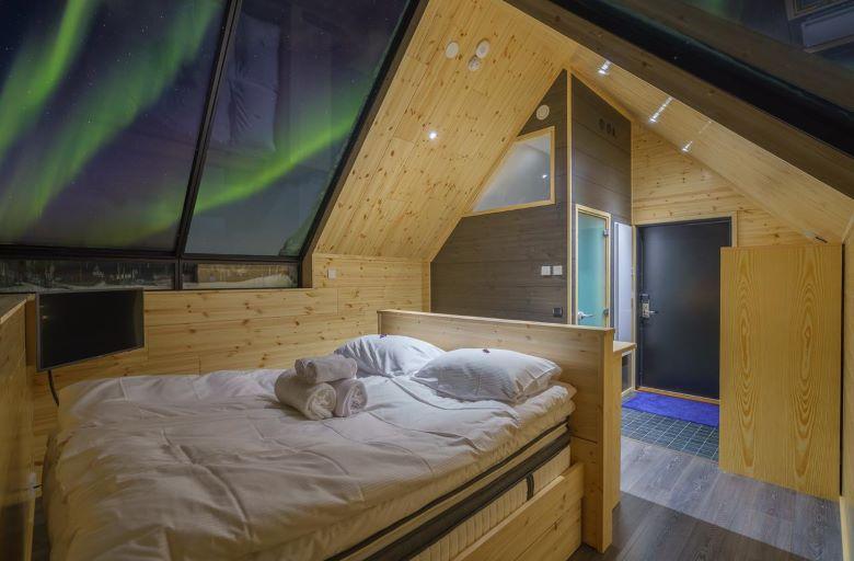 finland lapland saariselka accommodatie iglo