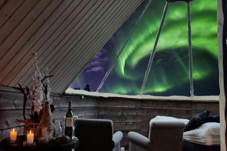 finland lapland saariselka iglo overnachten tips