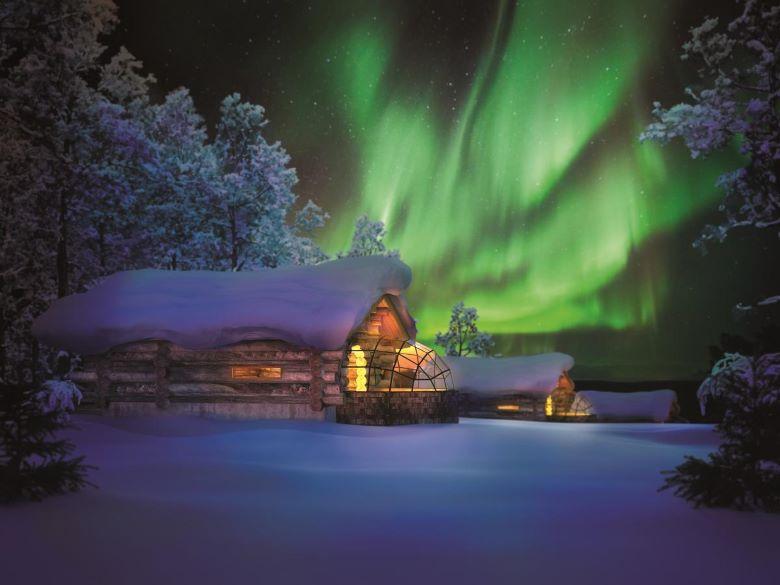 finland lapland iglo overnachten tips