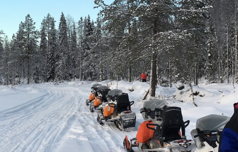 Finland Lapland sneeuwscooter tips