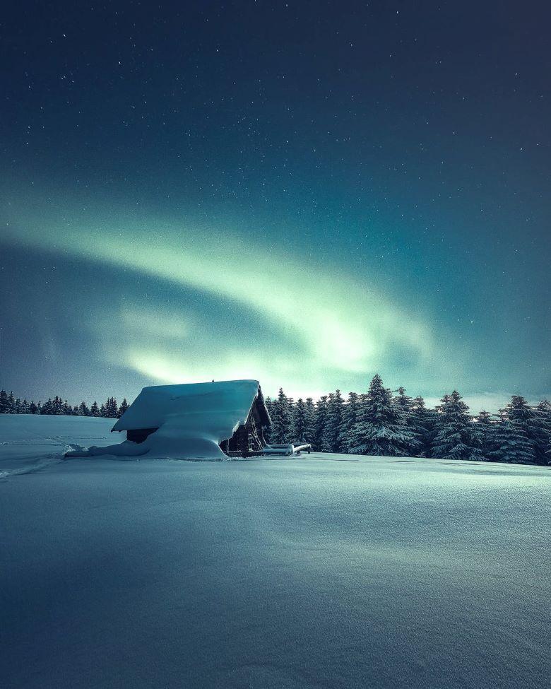 finland noorderlicht spotten iglo overnachten tips