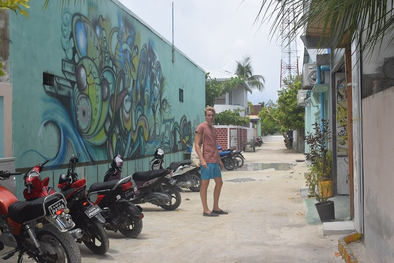 Lokaal eiland Maafushi bezoeken