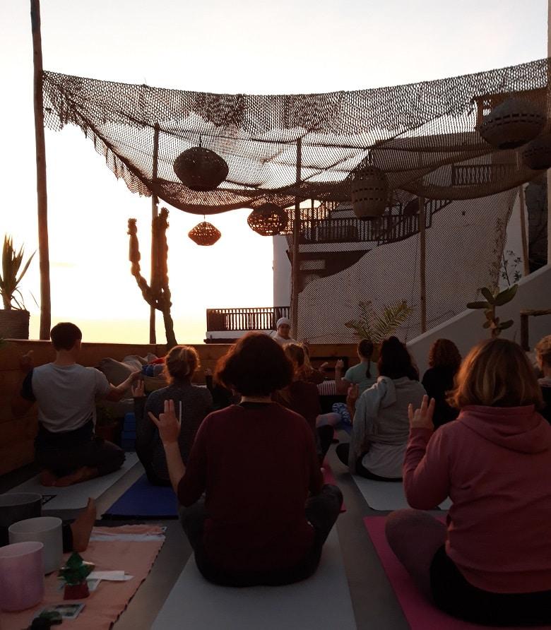 yogalessen Marokko