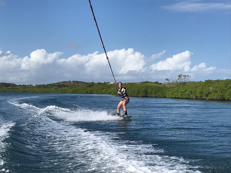 wakeboarden Spaanse water