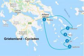 Eilandhoppen Griekenland Cycladen