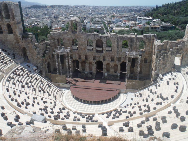 Amfitheater Athene bezienswaardigheden