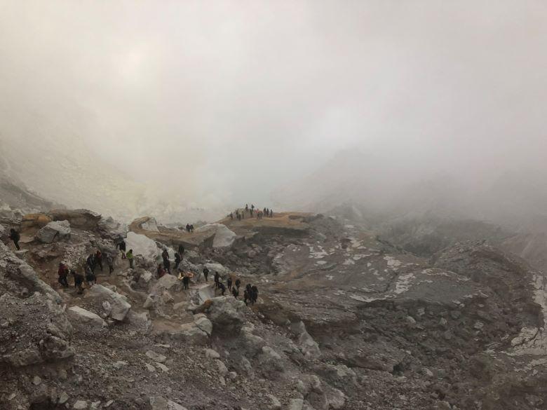 Ijen vulkaan zonder tour