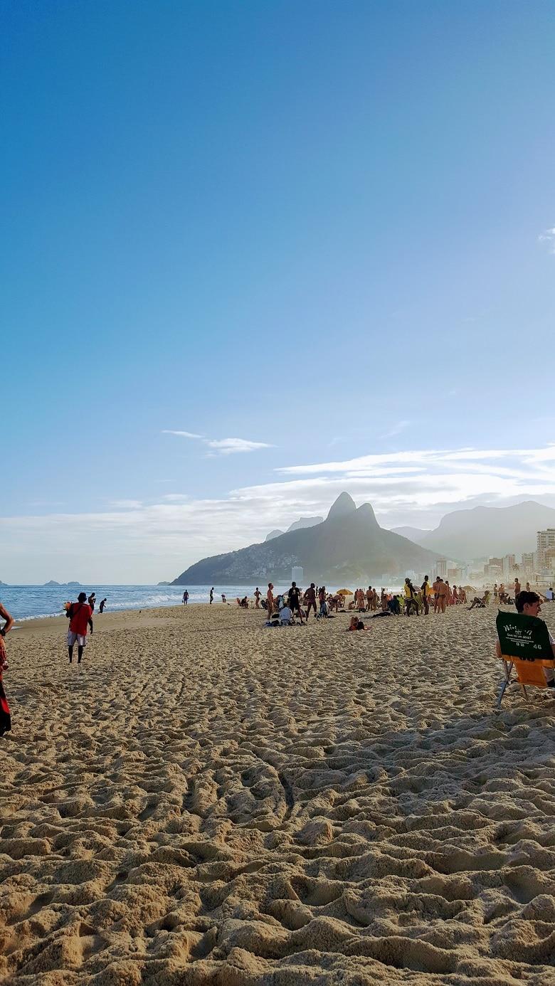 Rio de janeiro surfstranden