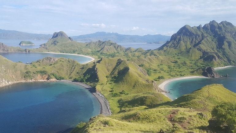 Padar island tour viewpoint