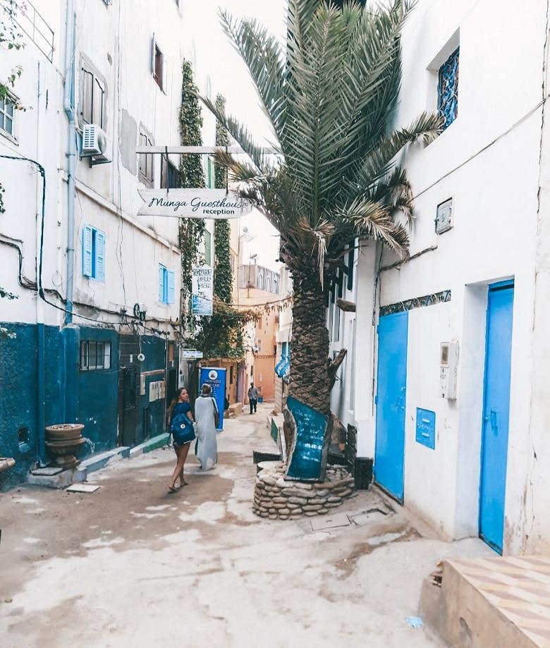 oud vissersdorpje taghazout marokko