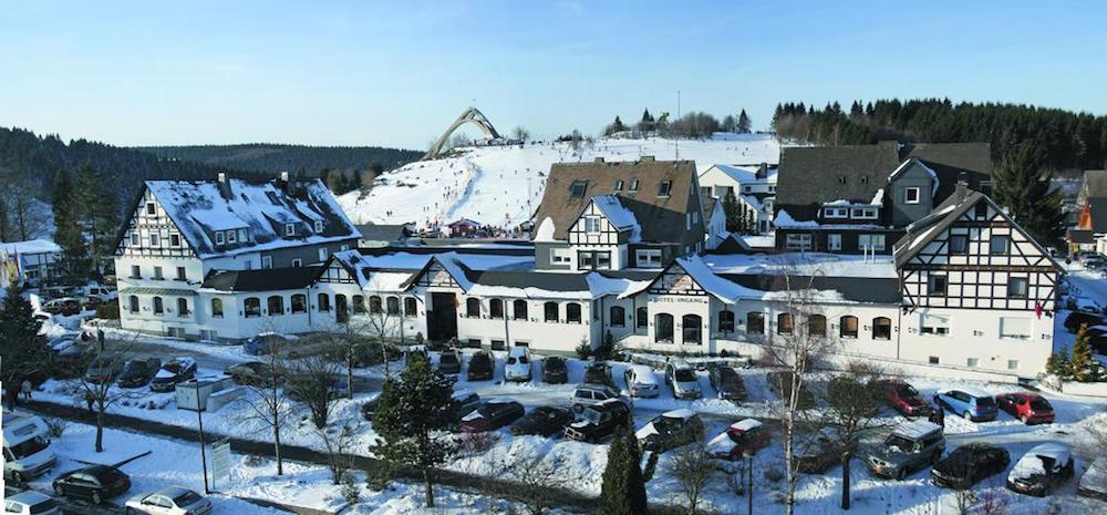Winterberg hotel aan de piste