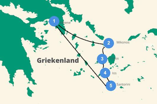 cycladen griekenland rondreis